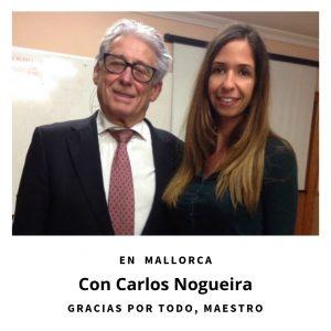 Com el maestro Carlos Nogueira