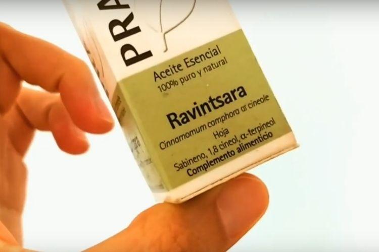 Aceite esencial de RAVINTSARA propiedades