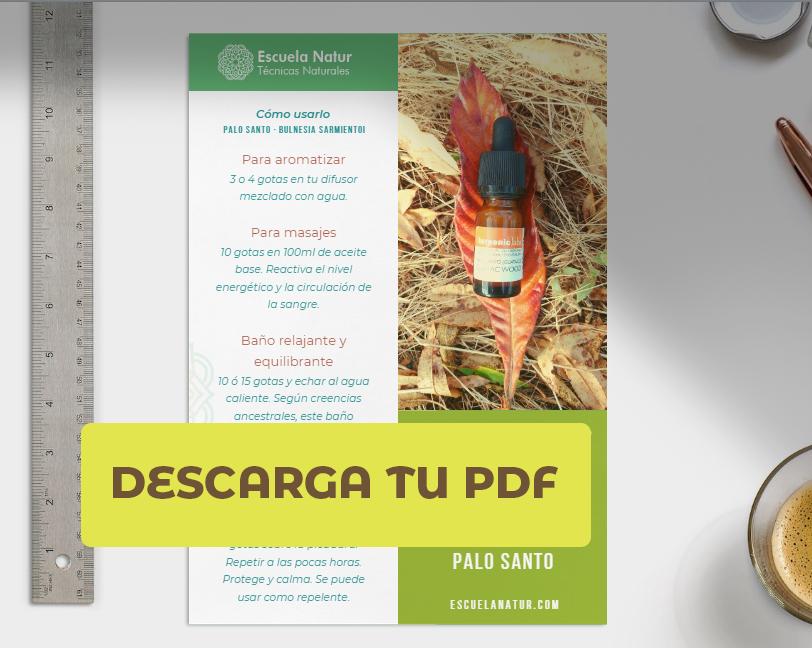 PDF Aceite esencial Palo Santo