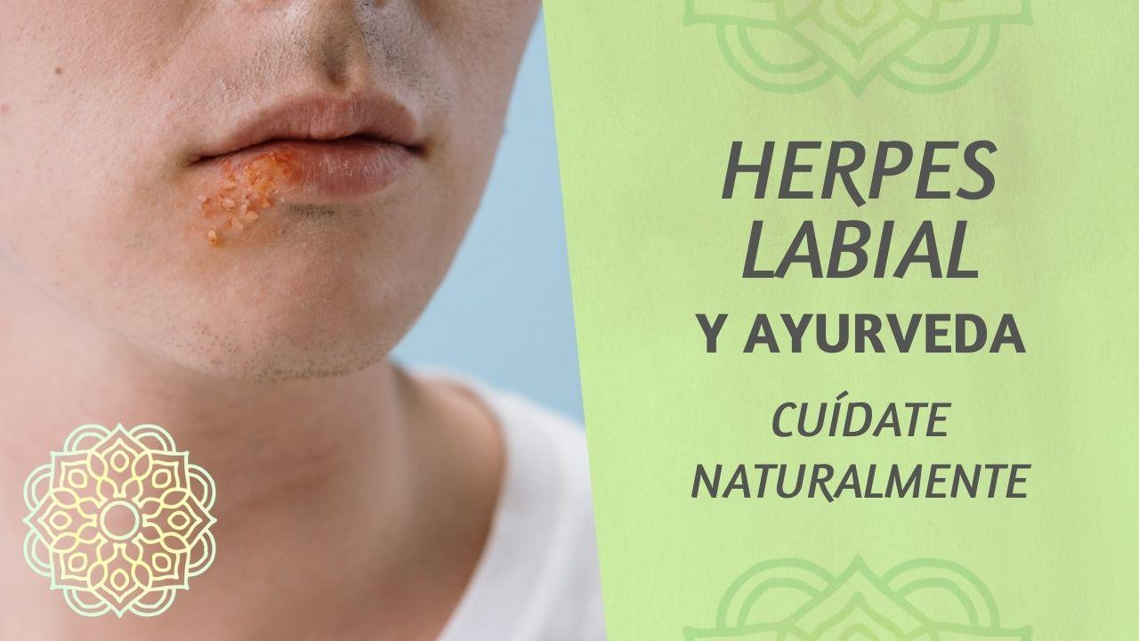 Herpes labial ayurveda